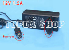 1PC HOLOTO ADS-25FSG 12V 1.5A Four-pin power adapter for VCR