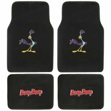 New 4pcs Set Looney Tunes Road Runner Front Rear Car Truck Carpet Floor Mats