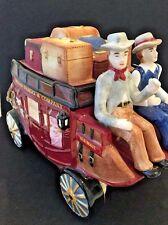 WELLS FARGO 2003 Stagecoach Cookie Jar NIP New Packaged Original Collectable  DF