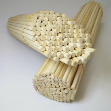 10Pcs 5mm Round Bamboo Sticks Dowel Rod DIY Handmade Crafts Kids Wood Supplies