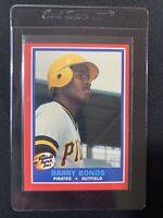 1987 Fleer Hottest Stars RC Barry Bonds Pittsburgh Pirates #5