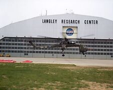 NASA Sikorsky S-64 Skycrane helicopter at Langley Research Center Photo Print