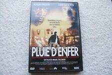 """DVD """"Pluie d'enfer"""". Avec Morgan Freeman et Christian Slater"""