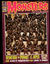 FAMOUS MONSTERS MAGAZINE #80 FINE+  (PLANET OF THE APES) WARREN