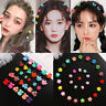 Women Mini Claw Hair Clips Flower Hairpins Hair Claw Clip Candy Color