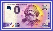 Billet Touristique Souvenir 0 euro - ALLEMAGNE - Karl Marx 2020-1 ANNIVERSARY