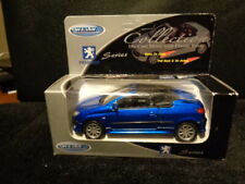 Vintage MIB 1997 Welly Diecast Peugeot 406 Coupe 206 CC Pull-Back Action #42323W