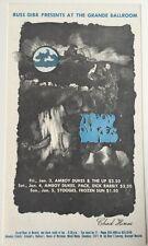 Russ Gibbs Present Amboy Dukes at the Grande Ballroom Detroit Postcard 1/3-4/69