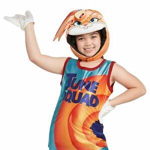 Space Jam Lola Bunny Costume Accessory Set Halloween Girl Head Gloves Tune Squad