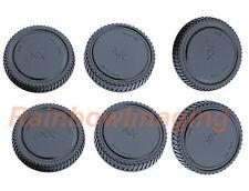 Lens Rear Cap and Body Cap for Samsung NX Camera NX1 NX500 NX3300 NX3000 x3 pcs