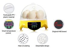 HHD Mini Automatic Digital 7 Eggs Poultry Incubator Hatcher Tool