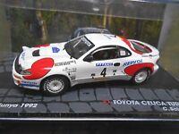 TOYOTA Celica Turbo 4WD Rallye Gr.A 1992 #4 Sainz Repsol IXO Altaya 1:43