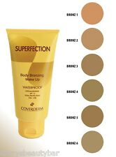 COVERDERM SUPERFECTION BODY BRONZING WATERPROOF MAKE UP ONLY £5.99 FREE POST !!!