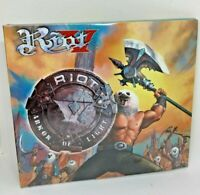 RIOT V Armor of Light  digipak LTD 2 CD Todd Hall The voice