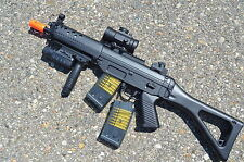 Double Eagle M82 M82P Semi/Full Auto Electric Airsoft Gun w/ TWO Magazines