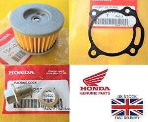 HONDA CRF250L CRF250M CB300R CBR250R Oil Filter & Gasket & Sump Bolt & Washer