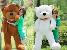 "63"" 160cm Giant big Sleepy teddy Bear CASE NO PP COTTON Huge Stuffed Toys doll"