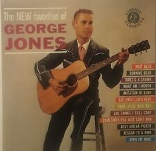 New Favorites of George Jones [1962] ~ NEW CD (May-1995, Liberty
