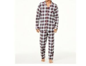 Family PJs Men's Christmas Holiday Pajama Set 2 Sizes to Choose From