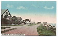 1910 Postcard Shore Drive Fenwick Saybrook Point CT