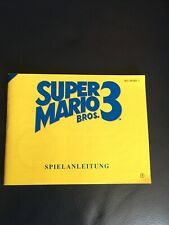 Spielanleitung für Super Mario Bros 3