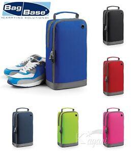 BagBase Shoe Bag Travel Football Boot Bag School PE Dance Gym Sports Shoes Bag