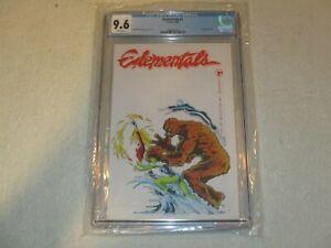 ELEMENTALS 1 CGC 9.6 COMICO 1984