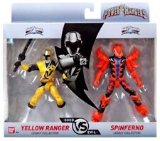 New 2018 POWER RANGERS YELLOW & SPINFERNO GOOD vs EVIL THE LEGACY COLLECTION