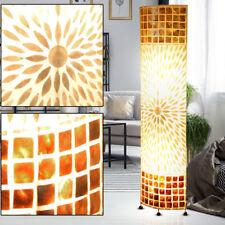 Lámpara de pie CONCHAS ARANDELA DE Cubierta materia Textil Mosaico Salón