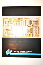 JAY-CEE SALES & RIVET Co. Inc. CATALOG #RR705 rivets rivet burs tinners rivets