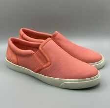 "NEW Clarks ""Glove Puppet"" Ladies Coral Nubuck Shoes UK 6.5 D"