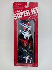 Boley 5 Piece Super Jet Die Cast Metal Reproduction Aircrafts Usaf #80009 Toy