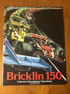 Bricklin 150 Fastrack International   1974 auto racing  NASCAR  INDY stock car?