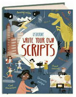 Usborne Write Your Own Scripts (IR) (Hardcover, Spiral) FREE shipping $35