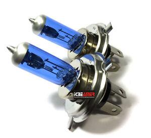 H4 9003-HB2 60/55W Headlight High Low Dual Beam Super White Light Bulbs Q400