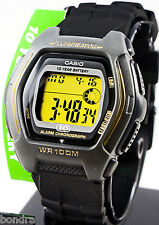Casio HDD600G-9A Men's Digital Watch Gold 100M WR Sport 10 Year Battery New