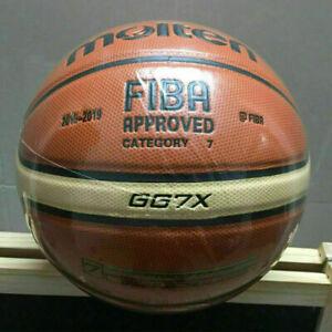Basketball Molten Balls FIBA No. 7 GG7X Game for Indoor Outdoor Sporting Ball