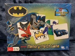 Batman Memory Match Game 72 Pieces Ages 3+ Brand NEW Sealed