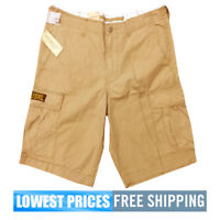 Polo Ralph Lauren Men's NWT Denim & Supply Khaki Brown 100% Cotton Cargo Shorts