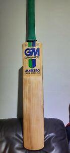Gunn & Moore Maestro Club Deluxe Cricket Bat 2lb 9 3/4oz