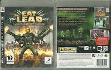JEU PlayStation 3 PS3 : EAT LEAD ( NEUF EMBALLE ) / EN FRANCAIS
