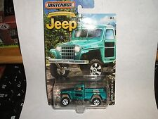 2016 Matchbox Anniversary Edition Jeep WILLYS 4X4 TEAL