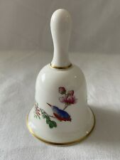 More details for wedgwood 'cuckoo' design bone china hand bell