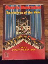 Dec. 22, 1980 Sports Illustrated Sportsmen of the Year U.S. Hockey Olympic Team