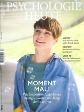 PSYCHOLOGIE HEUTE Heft 7, Juli 2015: Positive Augenblicke +++ wie neu +++