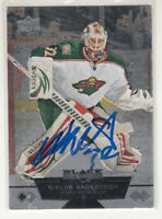 NIKLAS BACKSTROM 2012-13 Upper Deck Black Diamond #94 TTM Autographed Signed