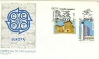SPD FDC First Day Spain edifil #3058-3059 Europe Cept 1990