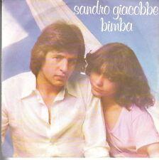disco 45 GIRI Sandro GIACOBBE BIMBA - IERI