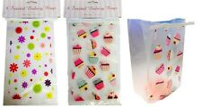 Clear Cellophane Bags Cupcake Self Seal Cello Bakery Display Food Bag Packaging
