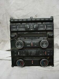 10 11 12 Ford Taurus Radio Control Panel Faceplate Center Dash Trim AG1T18A802BB